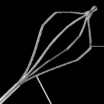 корзинка одноразовая, гексагональная, сталь