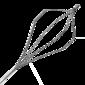 корзинка многоразовая, гексагональная, сталь